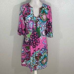 Jude Connally Dresses - Jude Connally Nancy multicolor print tunic dress
